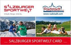 Salzburger Sportwelt Card - Vorteilscard Salzburg - Ferienwohnungen Radstadt