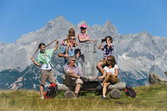 Wandern & Bergsteigen - Sommerurlaub Radstadt - Salzburger Land - Ferienhaus Pedross