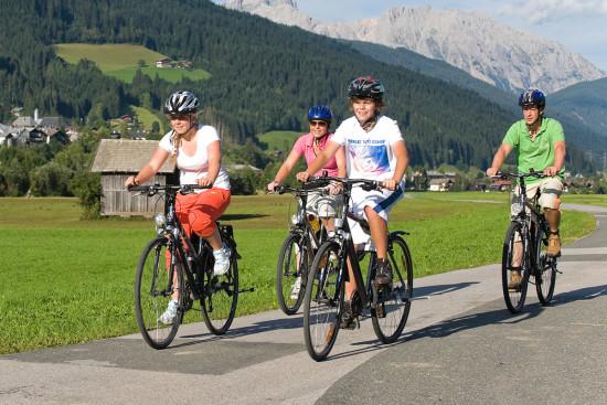 Radfahren - Mountainbiken - E-Biken - Sommerurlaub Radstadt - Salzburger Land - Ferienhaus Pedross