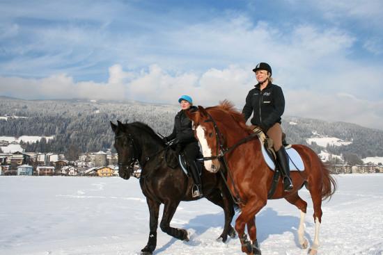 Pferdeschlittenfahrten & Winterreiten - Winterurlaub Radstadt - Salzburger Land - Ferienwohnungen Pedross